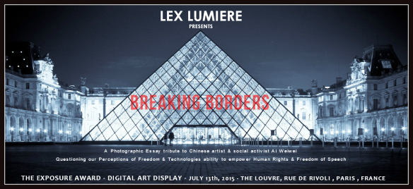The Louvre Promo Card Red